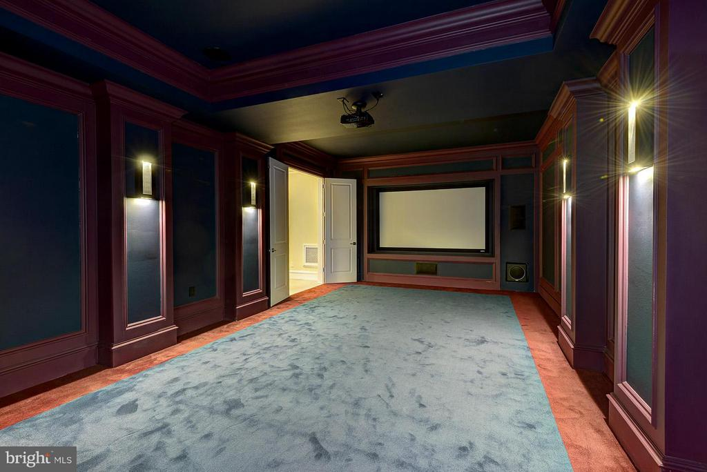 Cinema (Sample photo of builder's other work) - 800 HORTENSE PL, GREAT FALLS
