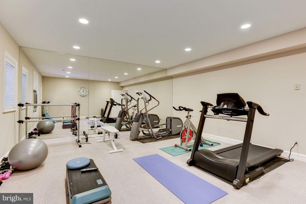 Fitness Room - 1179 ORLO DR, MCLEAN