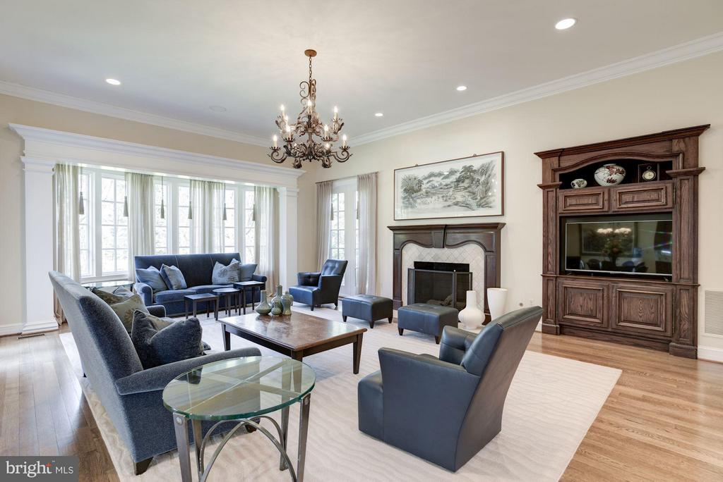 Family Room (Furnished) - 1179 ORLO DR, MCLEAN