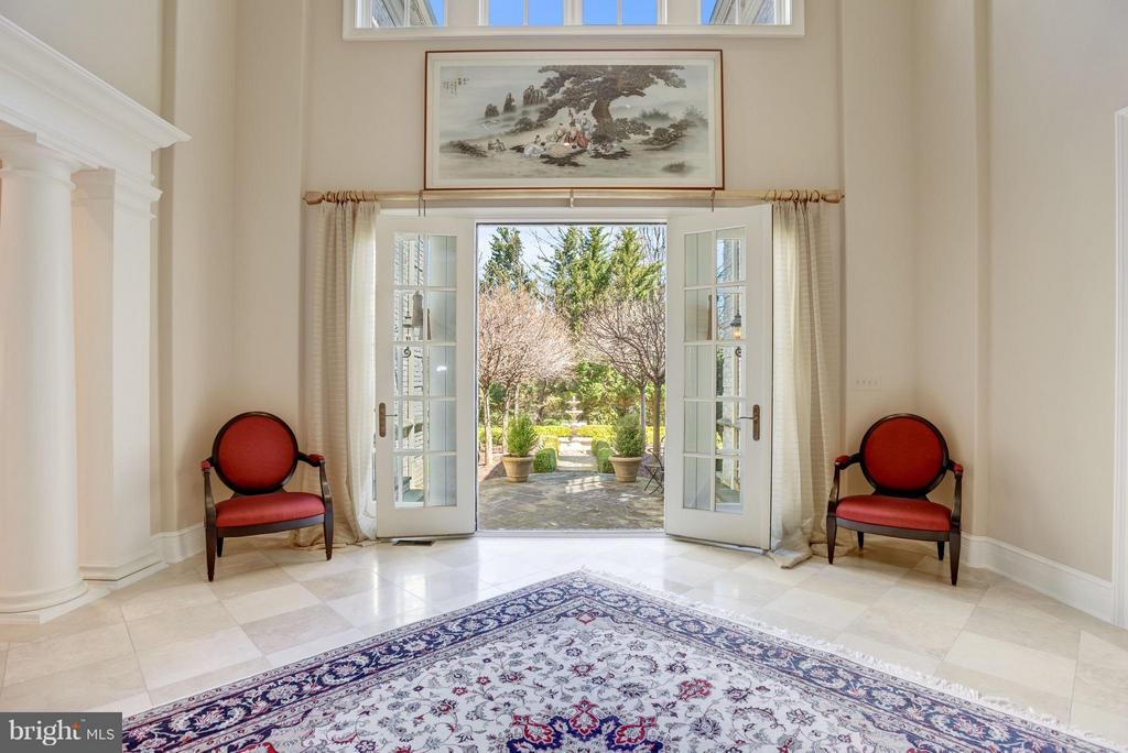 French Doors to Gardens - 1179 ORLO DR, MCLEAN