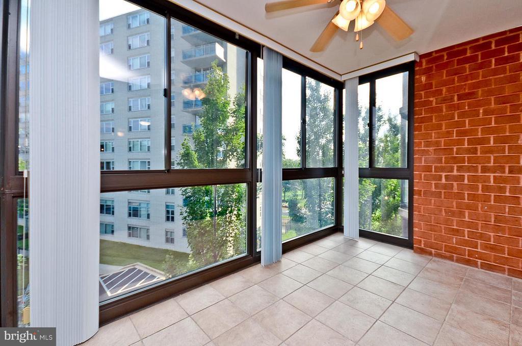 Enclosed Sunroom - 1001 N RANDOLPH ST #419, ARLINGTON
