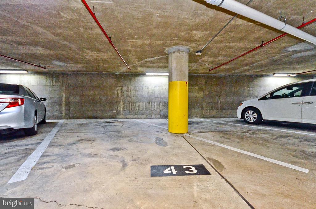 Attached, Garage Parking, #43 - 1001 N RANDOLPH ST #419, ARLINGTON