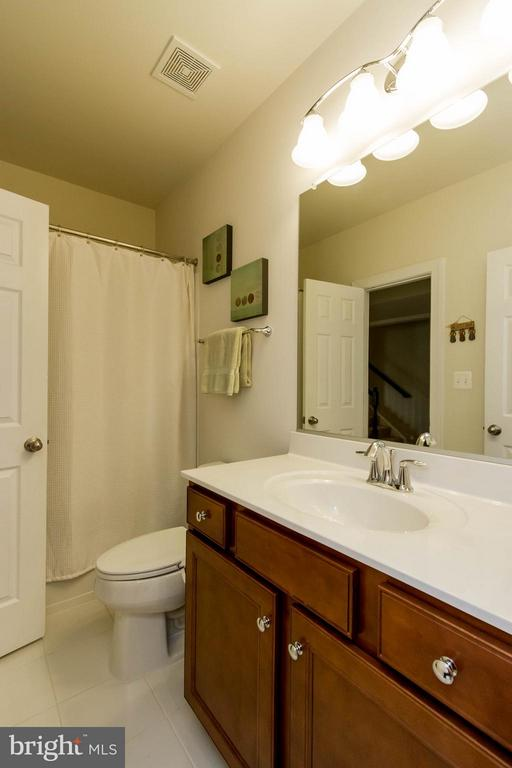 Basement Full Bath - 17800 AIRMONT RD, ROUND HILL
