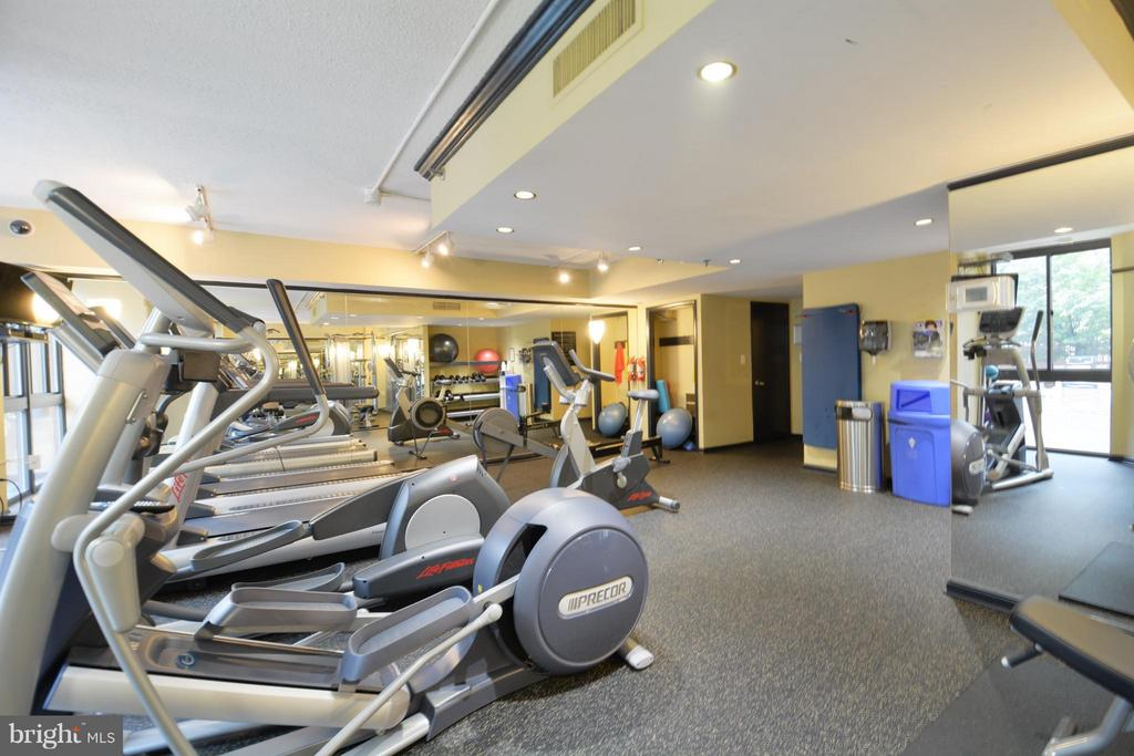 Building Gym - 1001 N RANDOLPH ST #419, ARLINGTON