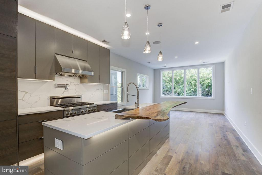 Thermador outfitted Kitchen - 517 Q ST NW #2, WASHINGTON
