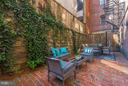 Extremely Large Private Patio - 1511 22ND ST NW #15, WASHINGTON