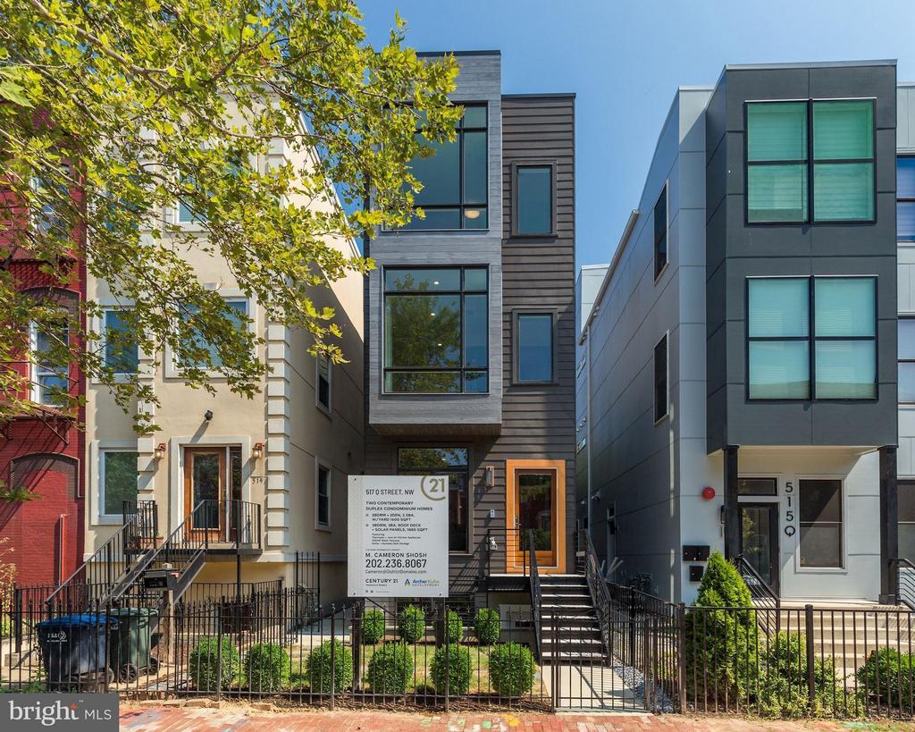 NEW Construction incl 2 Duplex Condos - 517 Q ST NW #2, WASHINGTON