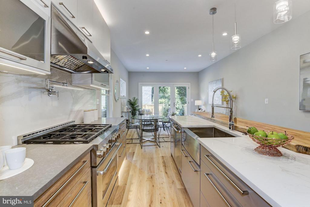Don't miss the pot filler! - 517 Q ST NW #1, WASHINGTON
