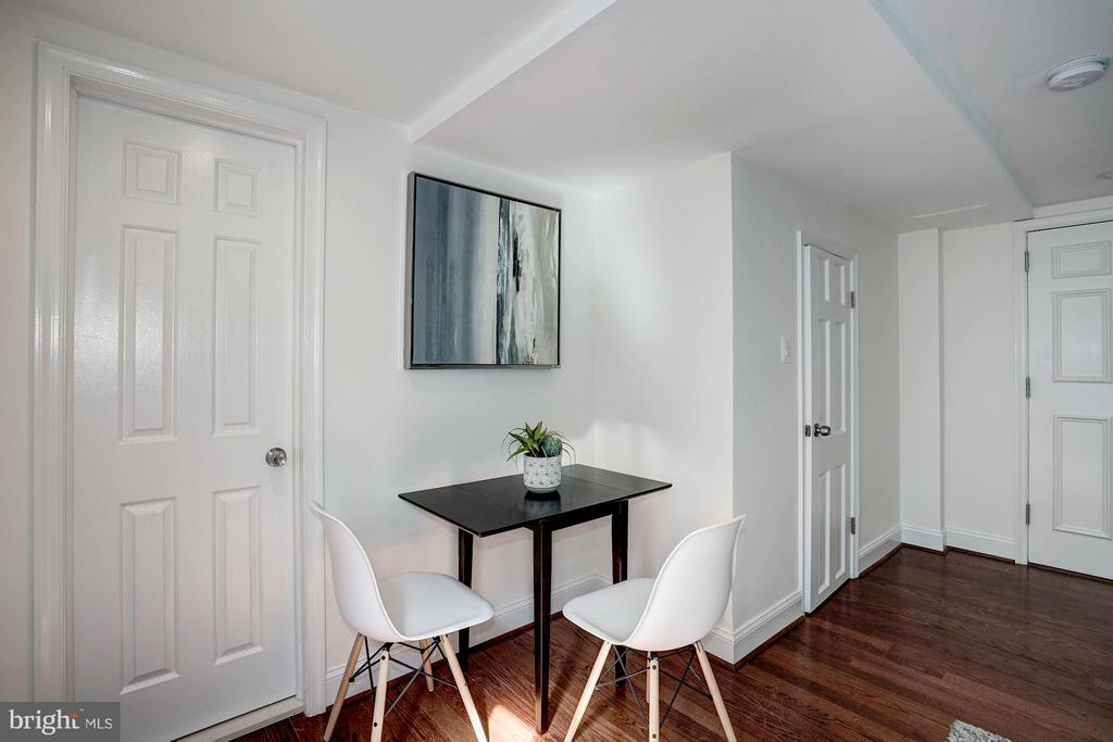 Space for Expandable Dining Table - 1511 22ND ST NW #15, WASHINGTON