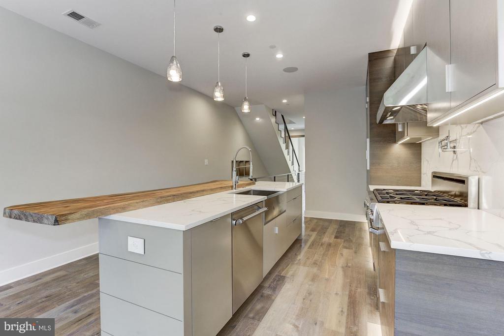 Kitchen - 517 Q ST NW #2, WASHINGTON