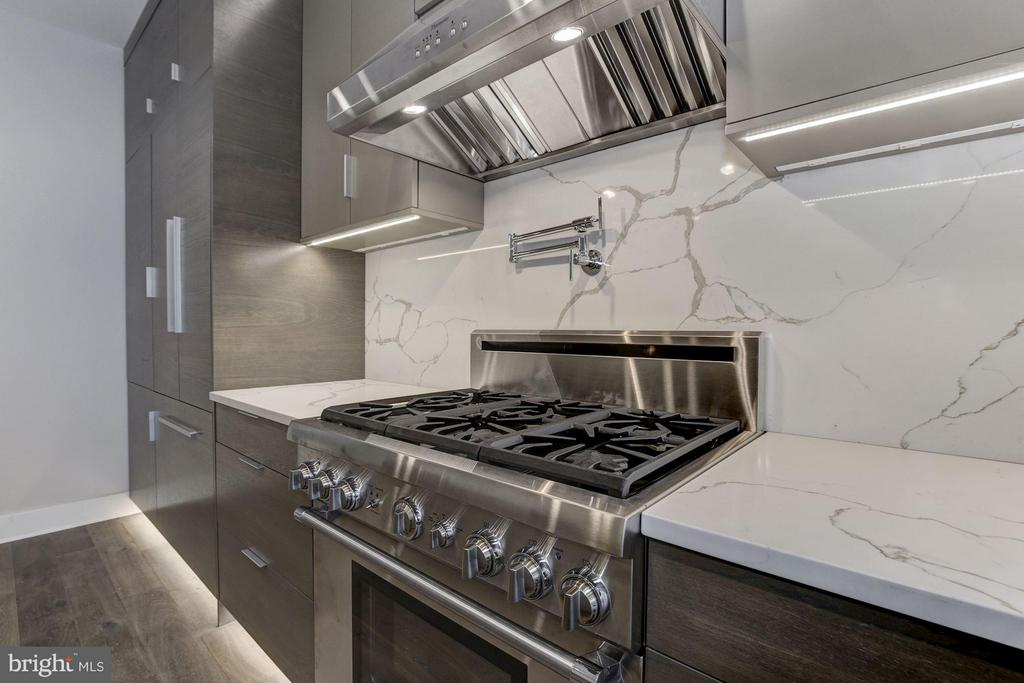 Sleek Under Cabinet Outlets for Additional Tools - 517 Q ST NW #2, WASHINGTON