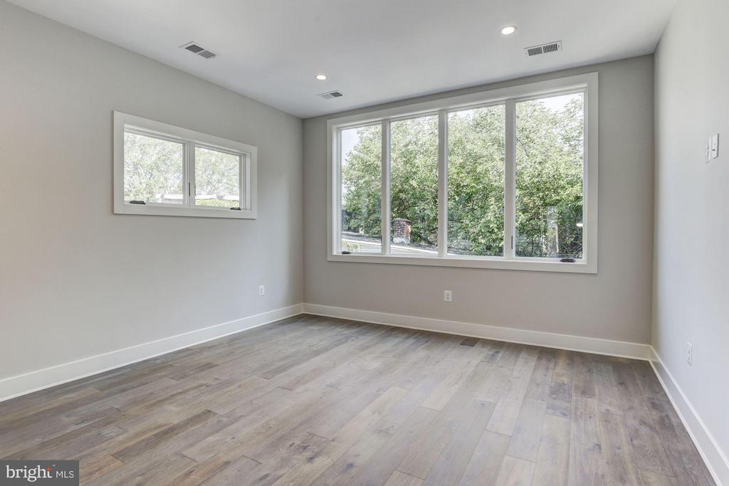 Green Views from Living Room - 517 Q ST NW #2, WASHINGTON