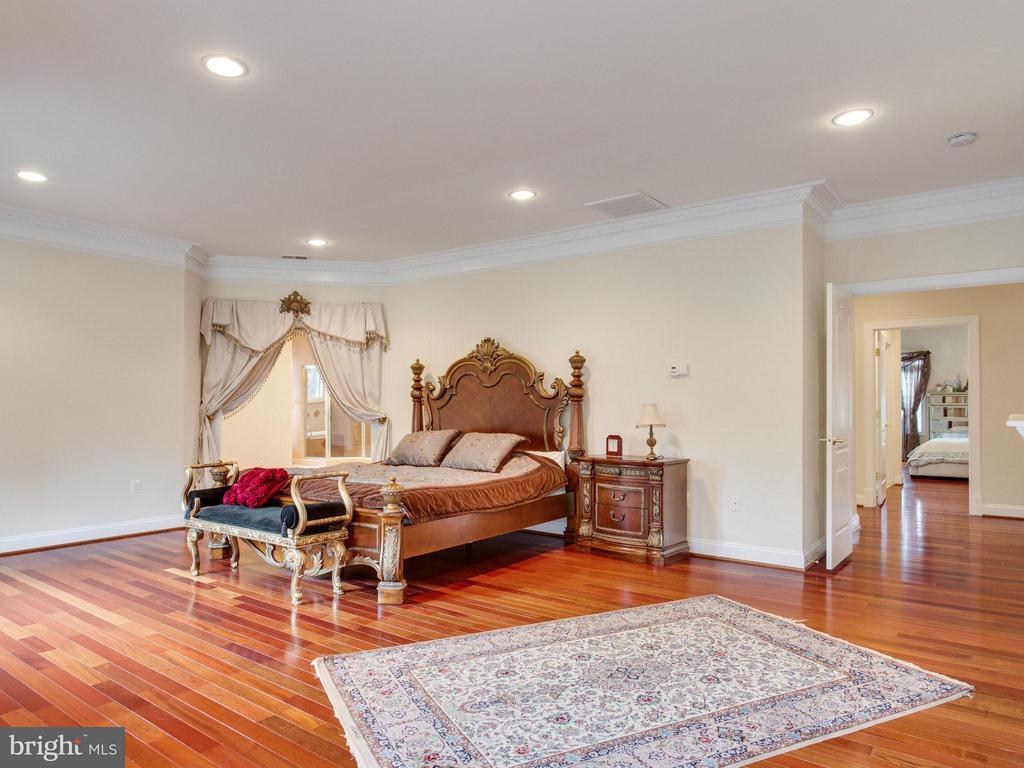 Expansive Master Suite with Brazilian Cherry Floor - 2952 BONDS RIDGE CT, OAKTON