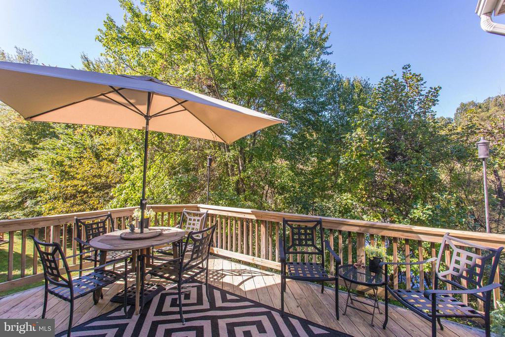Enjoy Al Fresco Dining with a View. - 11600 FOREST HILL CT, FAIRFAX