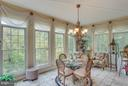 Casual Dining in Your Gorgeous Sunroom. - 11600 FOREST HILL CT, FAIRFAX