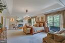 Sumptuous Master Retreat with Gas Fireplace. - 11600 FOREST HILL CT, FAIRFAX
