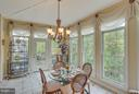 Enjoy Deck Access from the Sunroom. - 11600 FOREST HILL CT, FAIRFAX