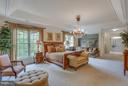 Master Suite Deep Tray Ceiling & 2 WI Closets. - 11600 FOREST HILL CT, FAIRFAX