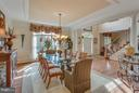 Entertain in Style in this Exquisite Dinning room. - 11600 FOREST HILL CT, FAIRFAX