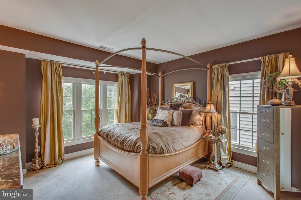 Bedroom Overlooking Front Gardens. - 11600 FOREST HILL CT, FAIRFAX
