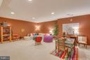 Lower Level Play Area. - 11600 FOREST HILL CT, FAIRFAX