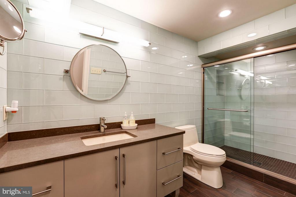 Lower Level Bath - 5107 MOORLAND LN, BETHESDA
