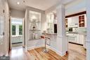 CUSTOM LIGHTING AND BUILT-IN DISPLAY SHELVING - 1514 21ST ST NW #8, WASHINGTON