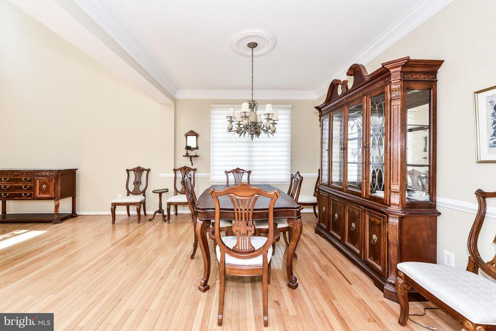 Dining Room - 25948 HARTWOOD DR, CHANTILLY
