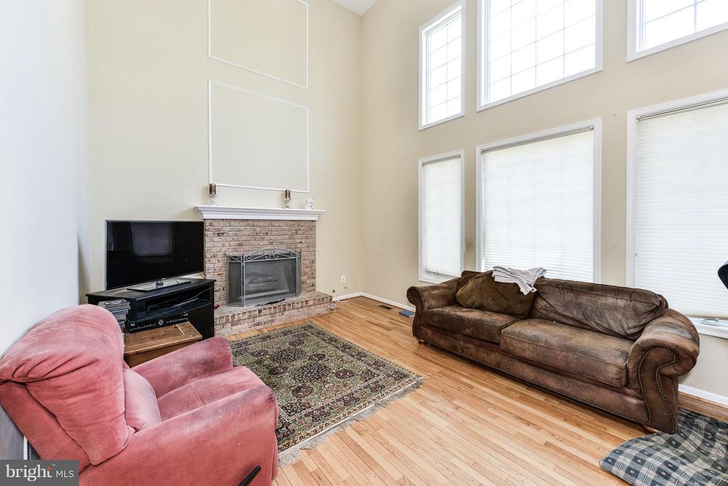 Family Room - 25948 HARTWOOD DR, CHANTILLY