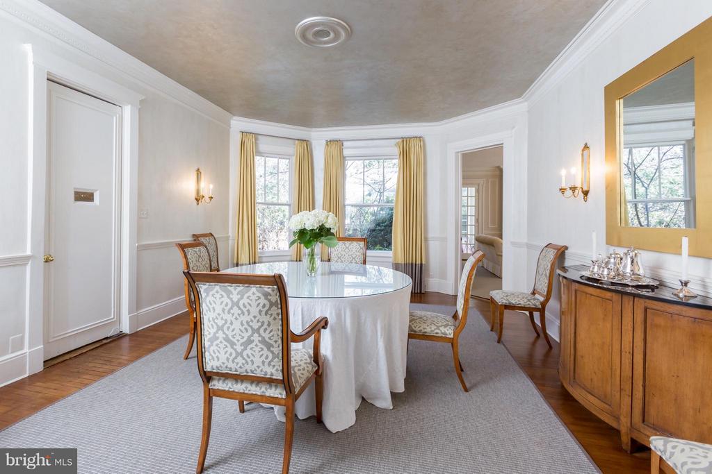 Dining Room - 3911 BRADLEY LN, CHEVY CHASE