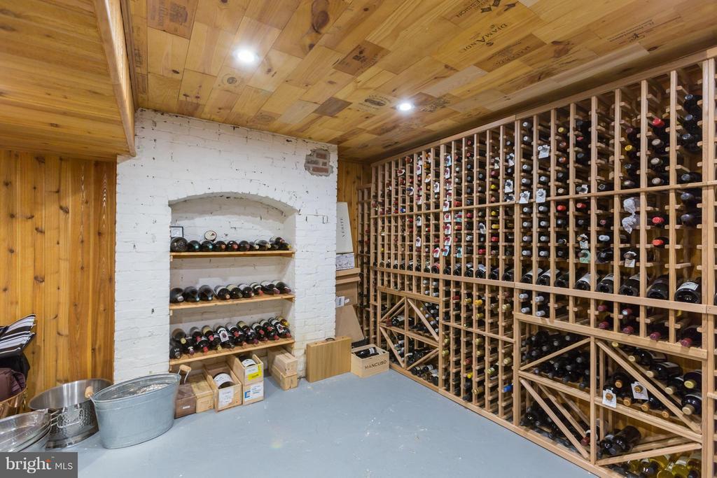 Wine Cellar - 3911 BRADLEY LN, CHEVY CHASE