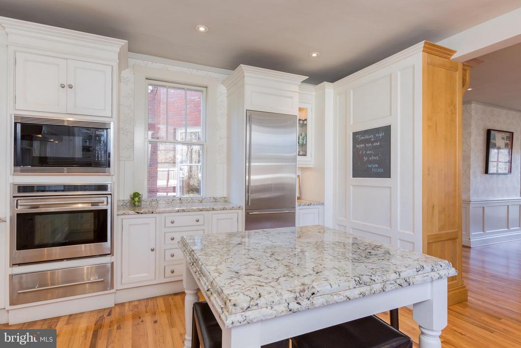 Gourmet Kitchen - 3911 BRADLEY LN, CHEVY CHASE