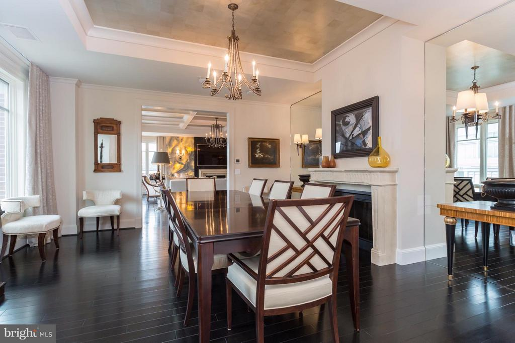 Dining Room - 2501 PENNSYLVANIA AVE NW #PH2B, WASHINGTON