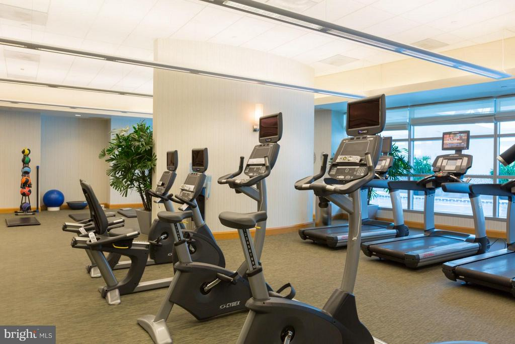 Fitness Center - 1881 NASH ST #1204, ARLINGTON