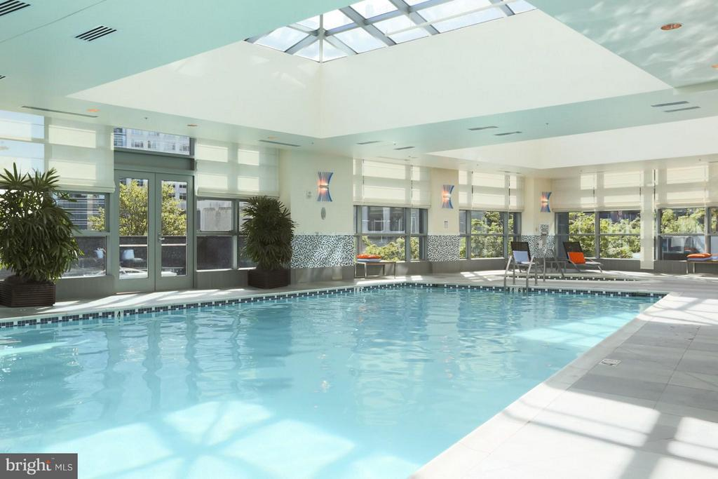 Indoor Pool - 1881 NASH ST #1204, ARLINGTON
