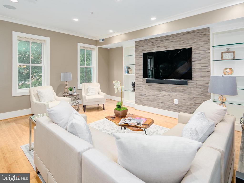 Living Room - 1217 10TH ST NW #A, WASHINGTON