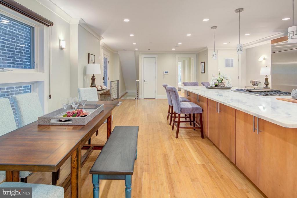 Kitchen - 1217 10TH ST NW #B, WASHINGTON