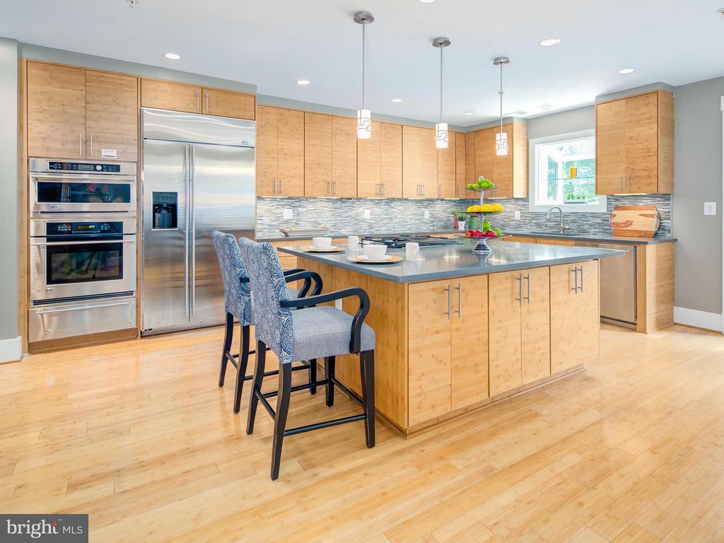 Kitchen - 1217 10TH ST NW #A, WASHINGTON