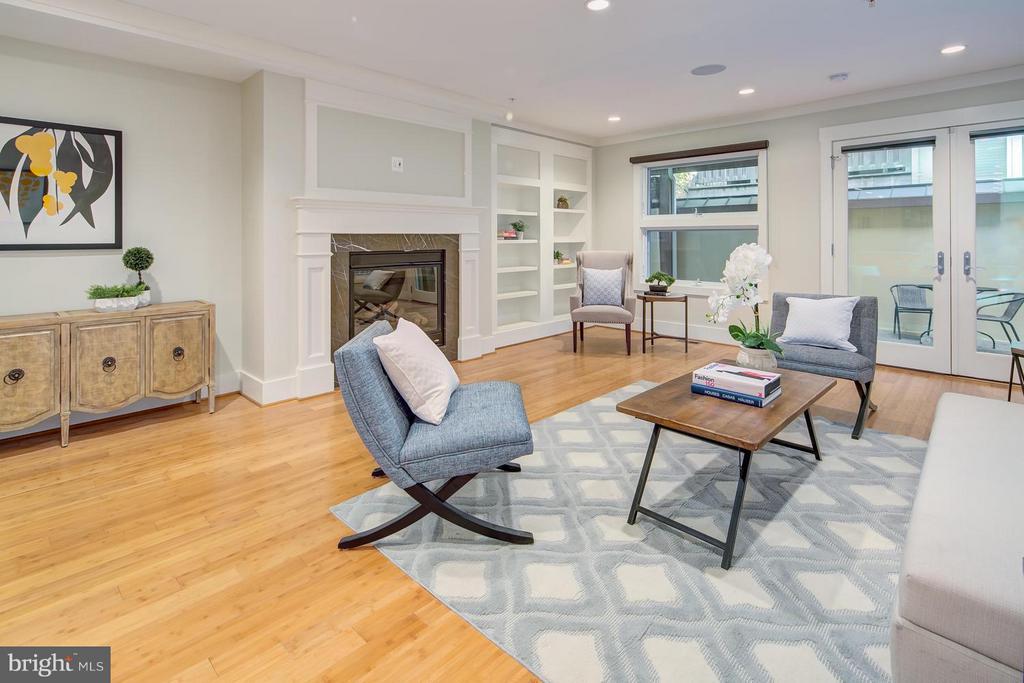 Living Room - 1217 10TH ST NW #B, WASHINGTON