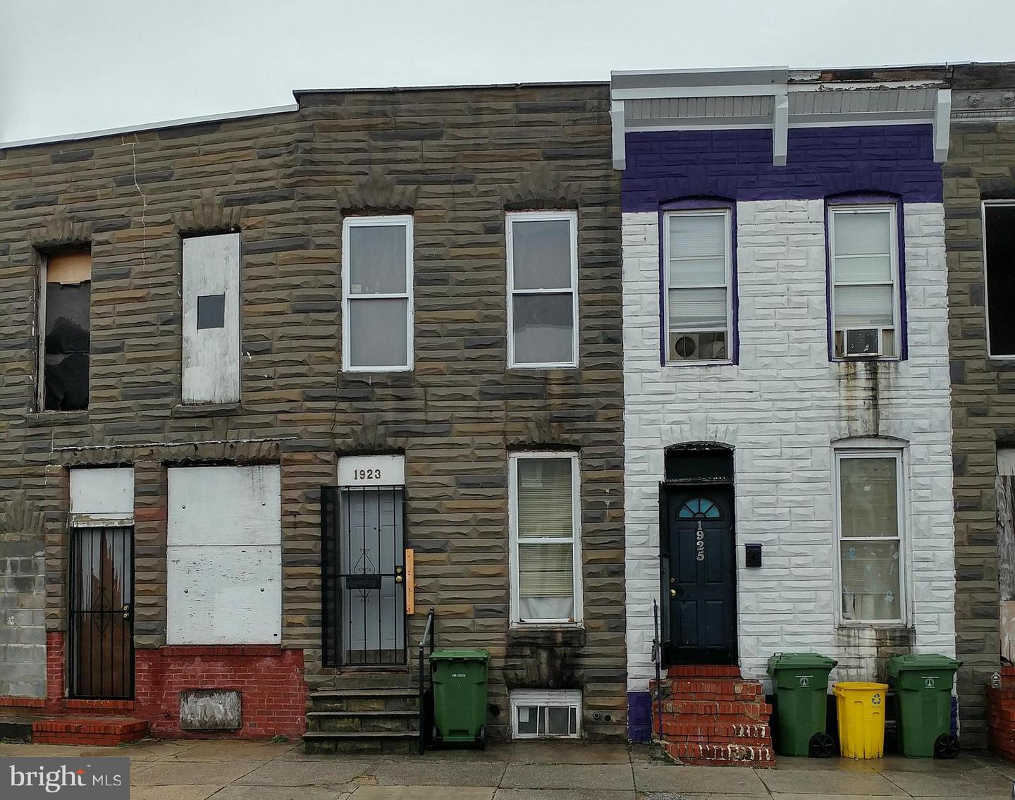 Single Family for Sale at 1923 Ramsay St Baltimore, Maryland 21223 United States
