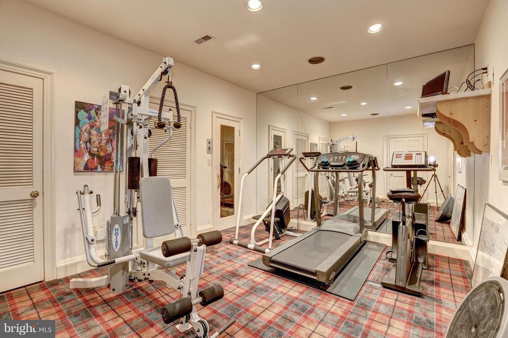 Exercise Room - 11617 HIGHLAND FARM RD, POTOMAC
