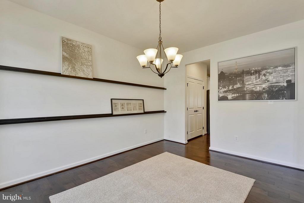 Dining Room off of the Kitchen - 22504 HEMLOCK HILLS PL, CLARKSBURG