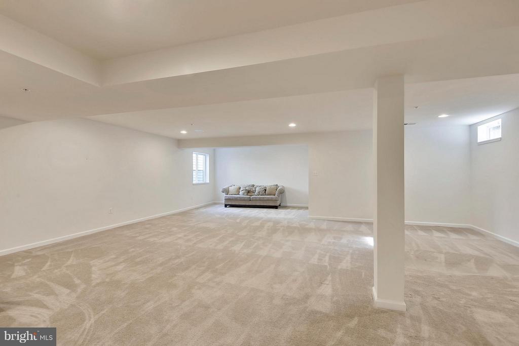 Lower Level Family Room-Enjoy the Space - 22504 HEMLOCK HILLS PL, CLARKSBURG