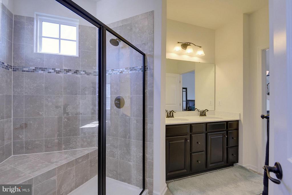 Luxury Master Bath with Sep Shower & Tub - 22504 HEMLOCK HILLS PL, CLARKSBURG