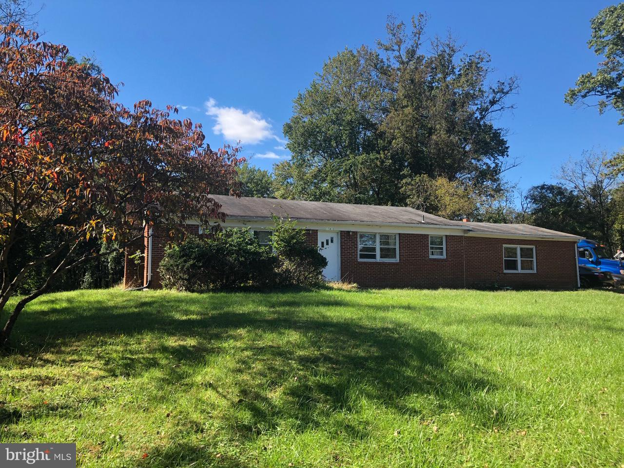 Single Family for Sale at 17410 Doctor Bird Rd Sandy Spring, Maryland 20860 United States