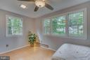 1 of 4 upstairs bedrooms has 5 sunny windows! - 233 WHITMOOR TER, SILVER SPRING