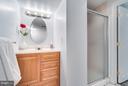 Basement full bathroom - 233 WHITMOOR TER, SILVER SPRING