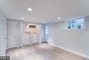 Finished basement w/ laundry, daylight, new floors - 233 WHITMOOR TER, SILVER SPRING