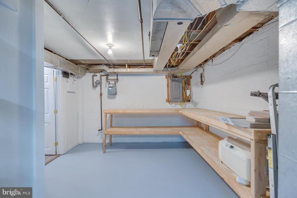 Storage room: so clean you can eat off any surface - 233 WHITMOOR TER, SILVER SPRING