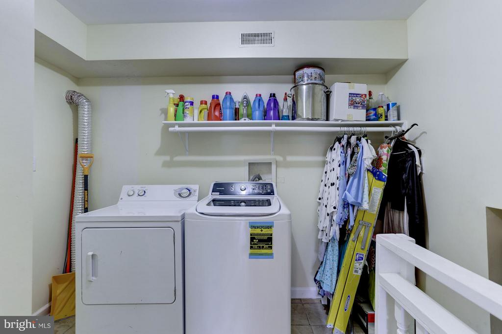 Laundry Area - 4300 KANSAS AVE NW, WASHINGTON